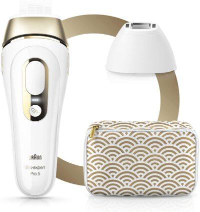 Braun Silk Expert Pro 5 mit Tasche Vergleich IPL Geräte Test
