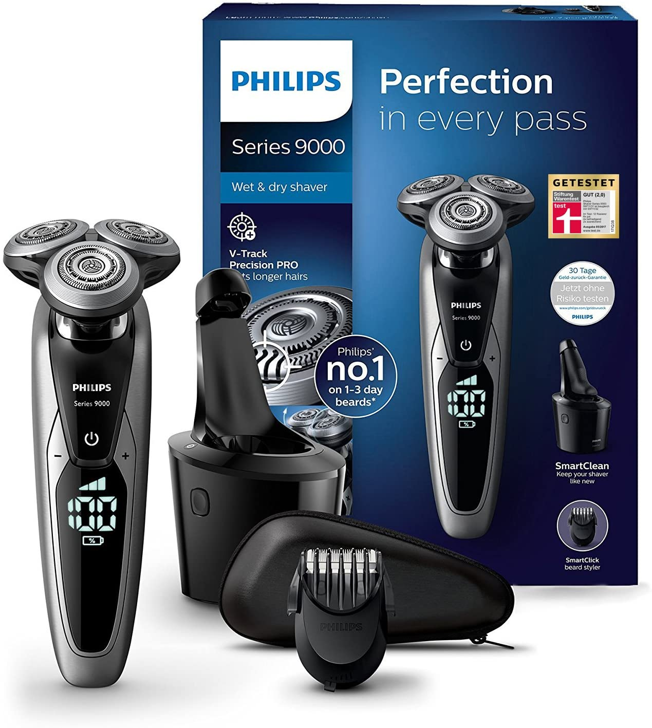 Philips Series 9000 Herrenrasierer Vergleich Test