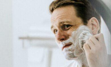 Rasieren mit Duschgel ist nicht gut